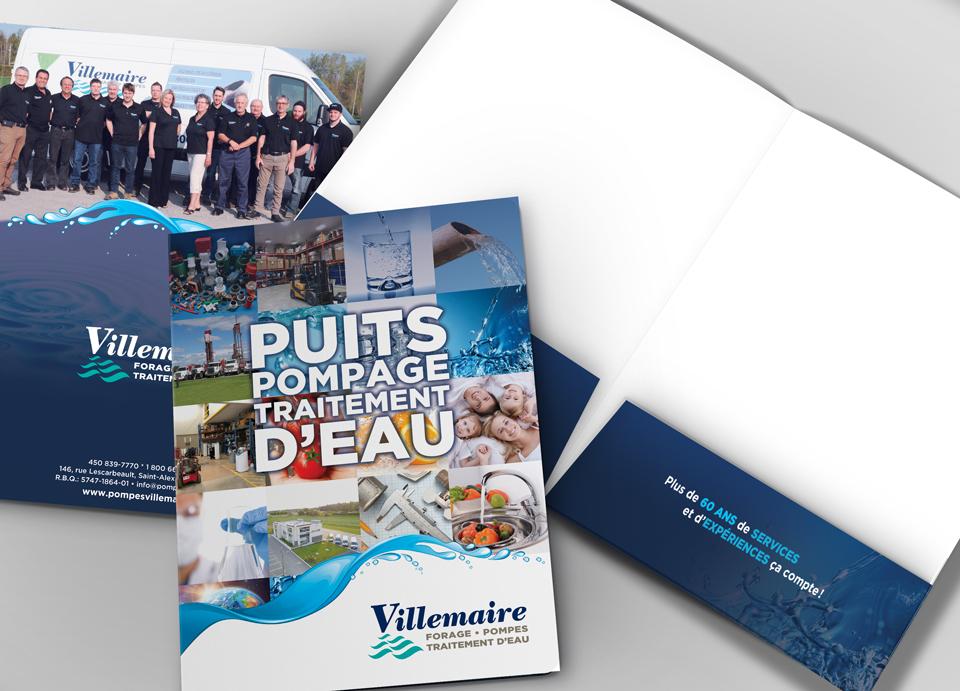 Pochette de presse Villemaire